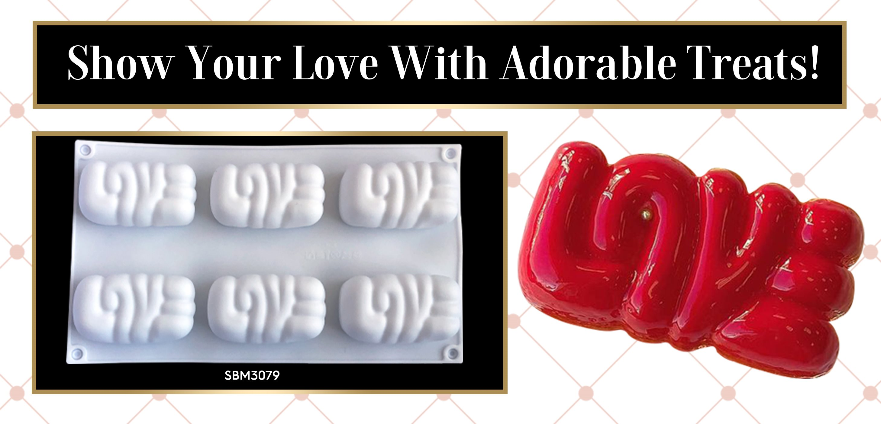 Love Silicone Baking Freezing Mold Valentine