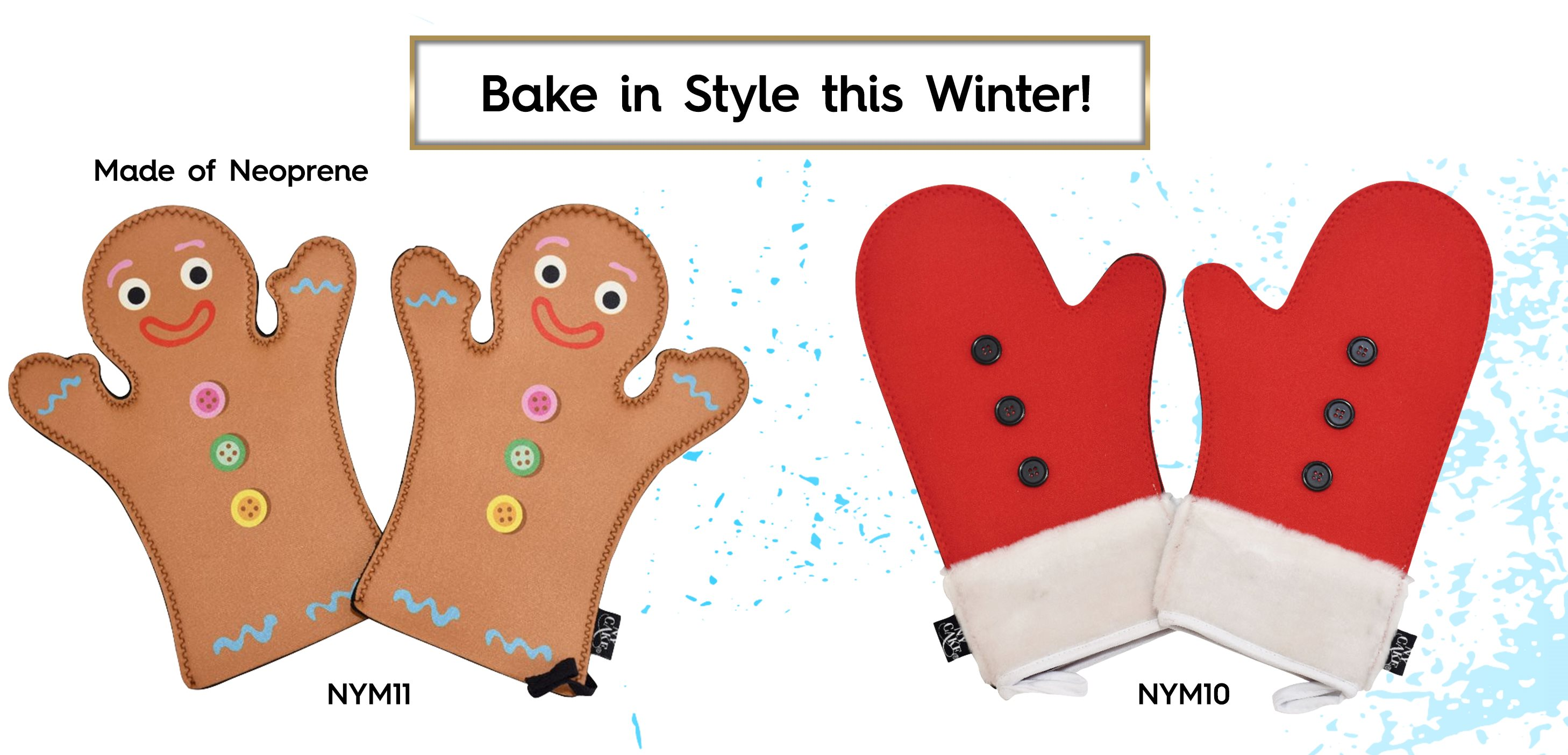 Winter Oven Mitts